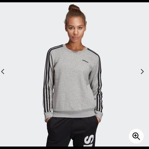Adidas 3 stripes sweatshirt